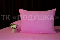 Купить розовые махровые наволочки на молнии в Ростове на Дону
