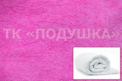 Купить розовый махровый пододеяльник  ТМ Подушка в Ростове на Дону